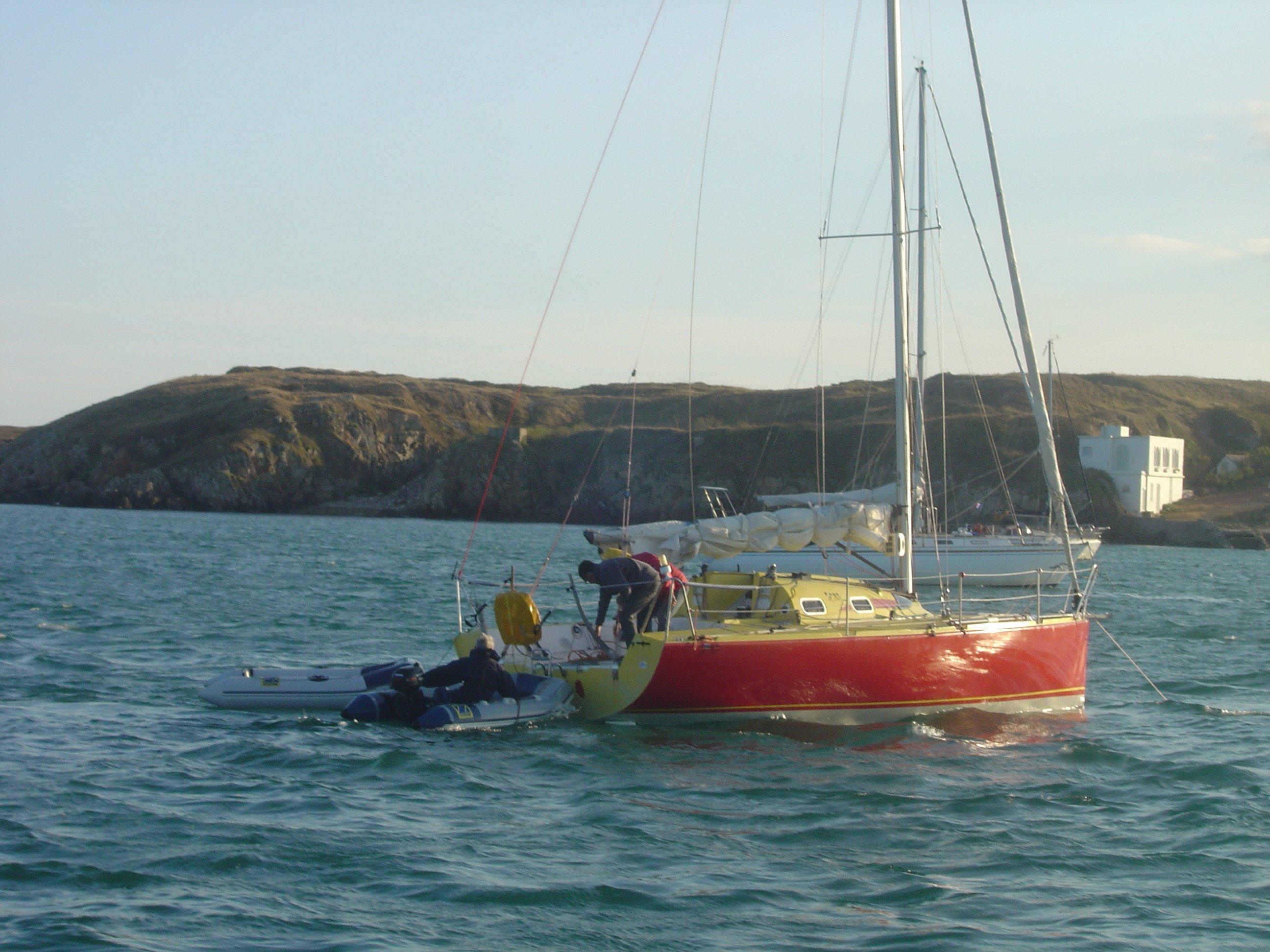 Apache le voilier de l atlantique for Dans un petit bateau